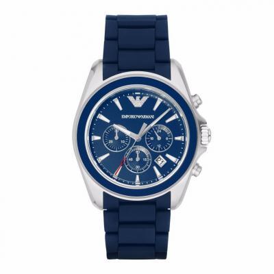 EMPORIO ARMANI Sigma Blue Stainless Steel Chronograph AR6068