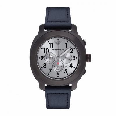 EMPORIO ARMANI Delta Blue Leather Chronograph AR6086