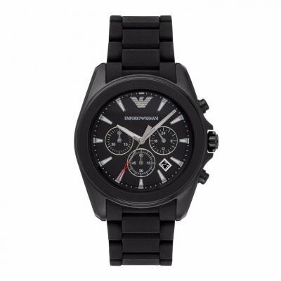 EMPORIO ARMANI Sigma Black Stainless Steel Chronograph AR6092