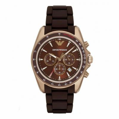 EMPORIO ARMANI Sigma Brown Stainless Steel Chronograph AR6099