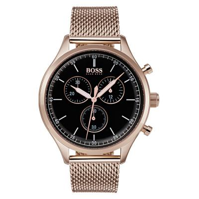 HUGO BOSS Rose Gold Stainless Steel Chronograph 1513548