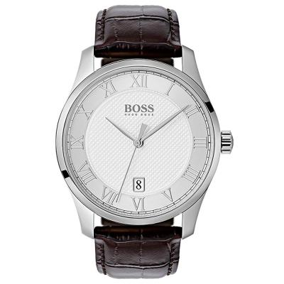 HUGO BOSS Master Brown Leather Strap 1513586