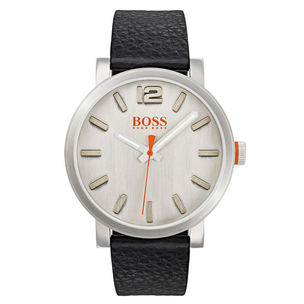 HUGO BOSS Bilbao Black Leather Strap 1550035  d7a9851427e