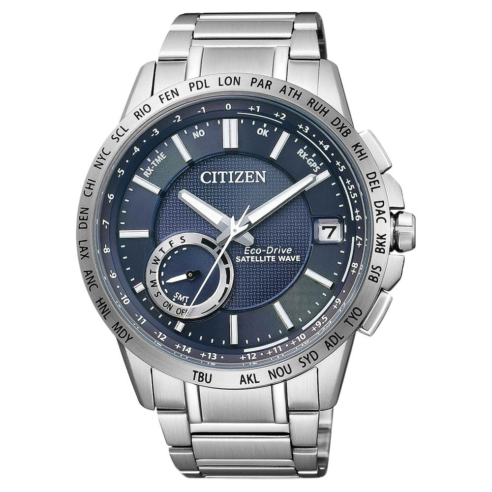 CITIZEN Blue Angels Eco-Drive Radio Controlled Chronograph AT8020 ... 8773e81a809