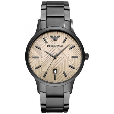 Emporio ARMANI Black Stainless Steel Bracelet AR11120