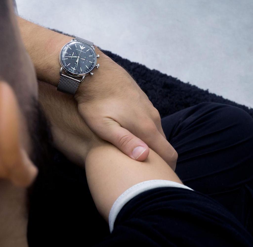ατσάλινα ρολόγια emporio armani