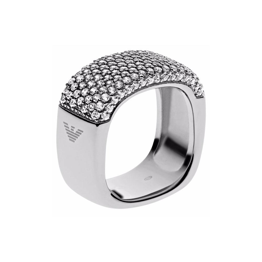 EMPORIO ARMANI Γυναικείο Δαχτυλίδι Από Ατσάλι EG3216040508