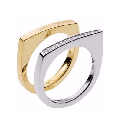 EMPORIO ARMANI Γυναικείο Δαχτυλίδι Από Ατσάλι EG3325040
