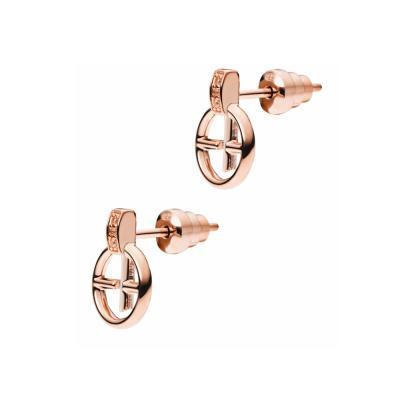EMPORIO ARMANI Γυναικεία Σκουλαρίκια Από Ροζ Επιχρυσωμένο Ατσάλι EG3194221