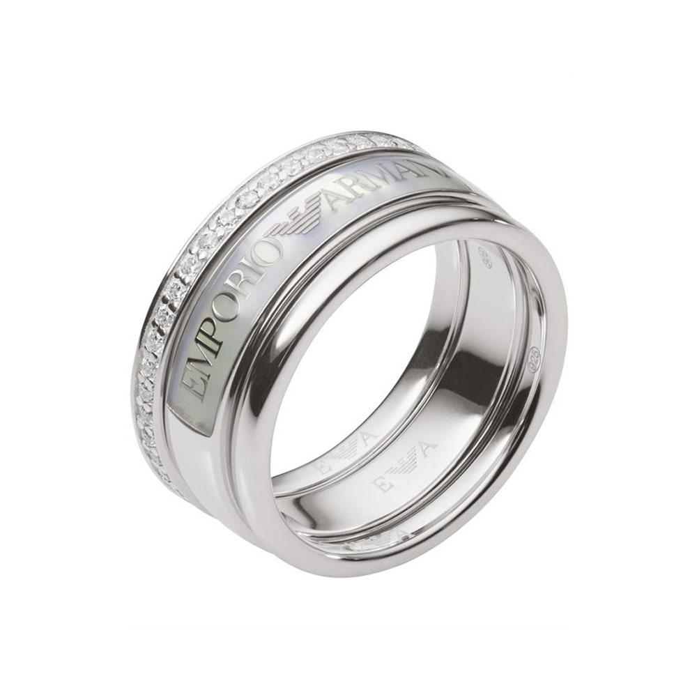 EMPORIO ARMANI Γυναικείο Δαχτυλίδι Aπό Ατσάλι EG3344040