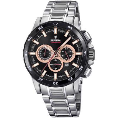 FESTINA Chronograph Stainless Steel Bracelet F20352-5