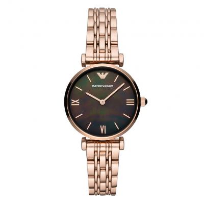 EMPORIO ARMANI Rose Gold Stainless Steel Bracelet AR11145
