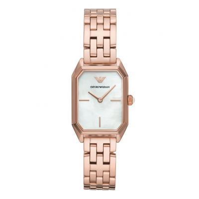 EMPORIO ARMANI Rose Gold Stainless Steel Bracelet AR11147