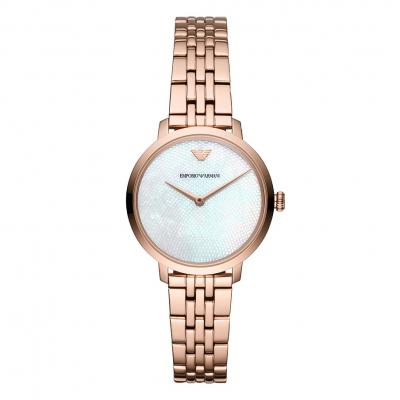 EMPORIO ARΜΑΝΙ Ladies Rose Gold Stainless Steel Bracelet AR11158