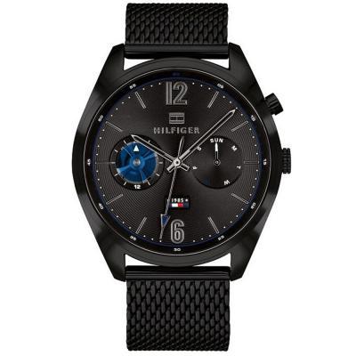 Tommy HILFIGER Deacan Black Stainless Steel Bracelet 1791547