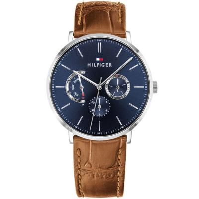 Tommy HILFIGER Dane Brown Leather Strap 1710375