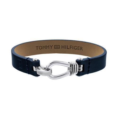 TOMMY HILFIGER Αντρικό Δερμάτινο Βραχιόλι Από Ατσάλι 2701055