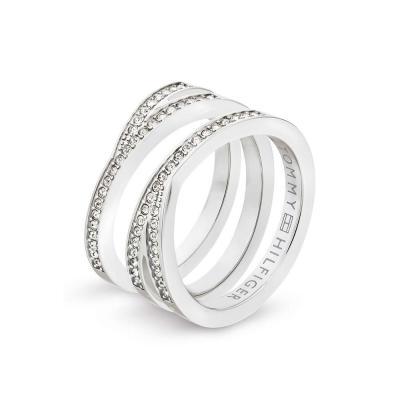 TOMMY HILFIGER Γυναικείο Δαχτυλίδι Από Ανοξείδωτο Ατσάλι 2701098C