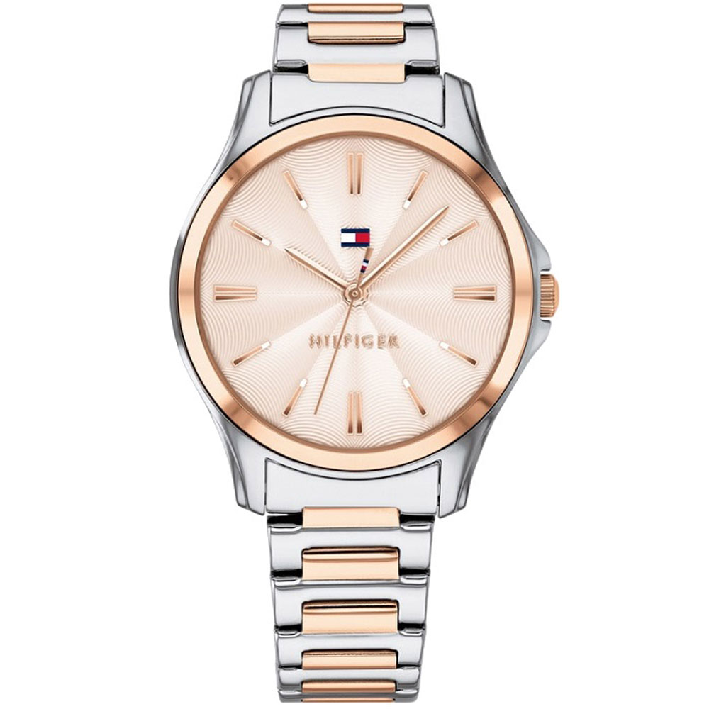 fc5e4babba Tommy HILFIGER Lori Two Colour Stainless Steel Bracelet 1781952 ...