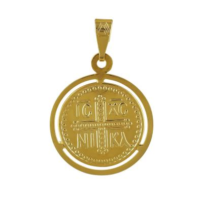 Κίτρινο Χρυσό Κωνσταντινάτο Κ9 ΚΝ217