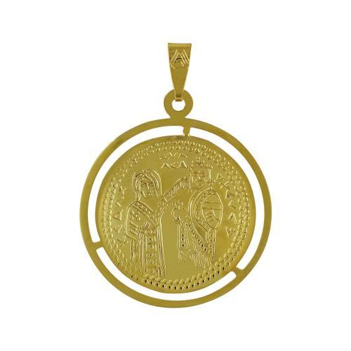 Κίτρινο Χρυσό Κωνσταντινάτο Κ9 ΚΝ215