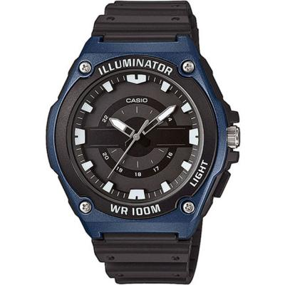 CASIO Collection Black Rubber Strap MWC-100H-2AVEF