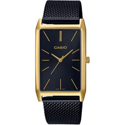 CASIO Collection Black Stainless Steel Bracelet LTP-E156MGB-1AEF