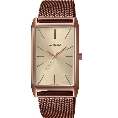 CASIO Collection Rose Gold Stainless Steel Bracelet LTP-E156MR-9AEF