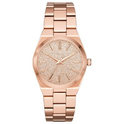 MICHAEL KORS Channing Crystals Rose Gold Stainless Steel Bracelet MK6624