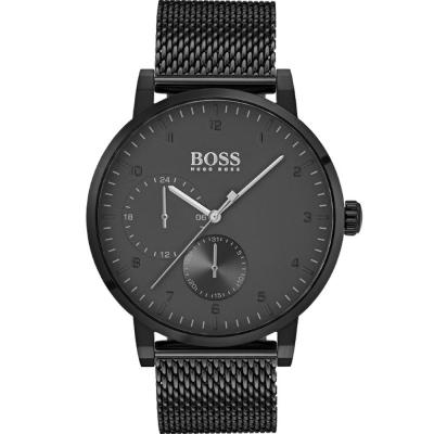 HUGO BOSS Oxygen Black Stainless Steel Bracelet 1513636