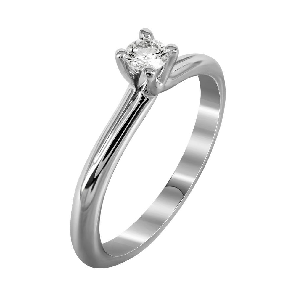 Μονόπετρο Δαχτυλίδι Με Διαμάντια Brilliant Από Λευκόχρυσο Κ18 DDX237 ... f9389958c29