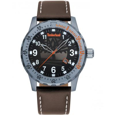 TIMBERLAND Clarksburg Brown Leather Strap 15473JLU-02