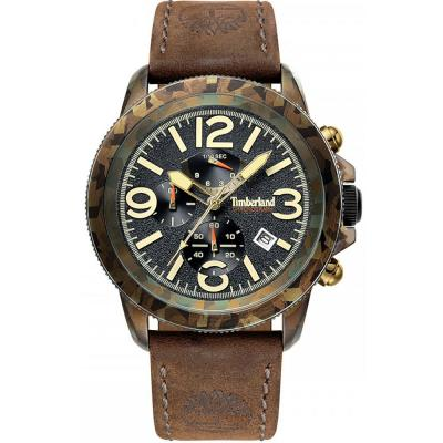 TIMBERLAND Ashbook Brown Leather Chronograph 15474JSGN-02
