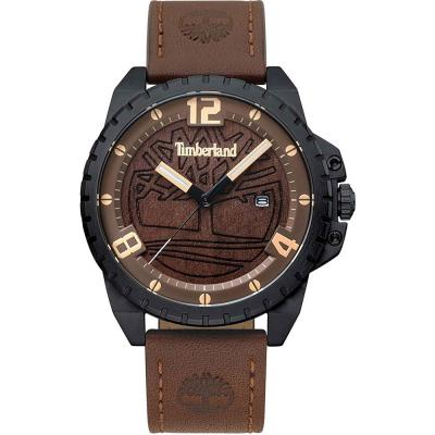 TIMBERLAND Eastford Brown Leather Strap 15513JSB-12