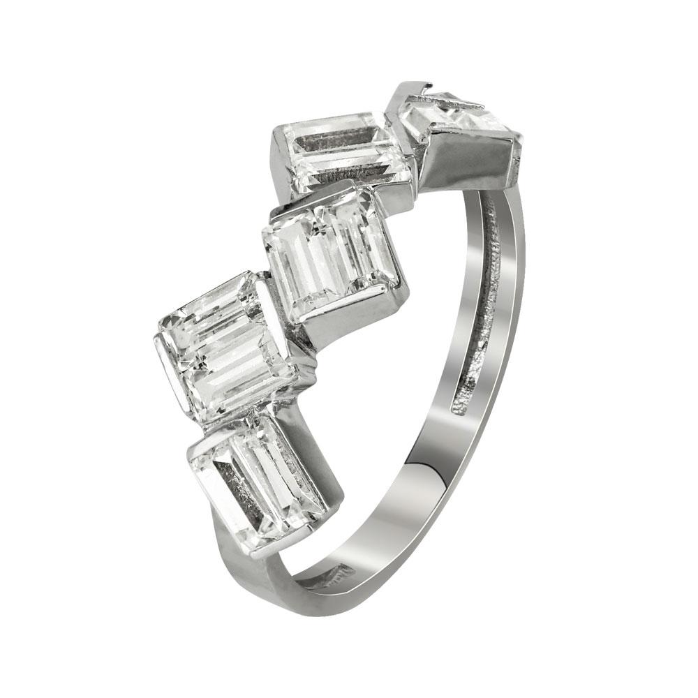 Σειρέ Δαχτυλίδι Από Λευκόχρυσο Κ14 DX94684  3cefae92e18