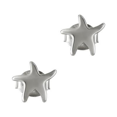 Παιδικά Σκουλαρίκια Με Αστεράκι Από Ασήμι PSK353