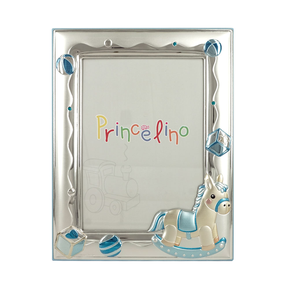 Princelino Παιδική Κορνίζα Για Αγοράκι Από Ασήμι MA/140Β-C
