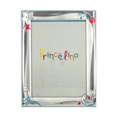 Princelino Παιδική Κορνίζα Για Αγοράκι Από Ασήμι MA/127B-C