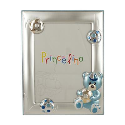 Princelino Παιδική Κορνίζα Για Αγοράκι Από Ασήμι MA/135Β-C