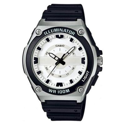 CASIO Collection Black Rubber Strap MWC-100H-7AVEF
