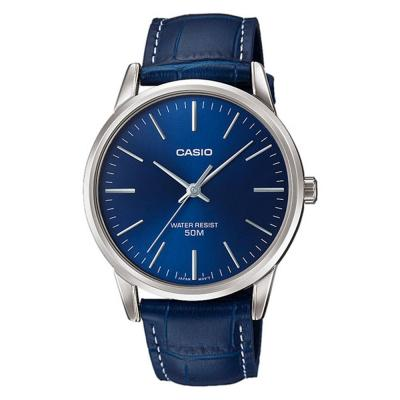 CASIO Collection Blue Leather Strap MTP-1303PL-2FVEF