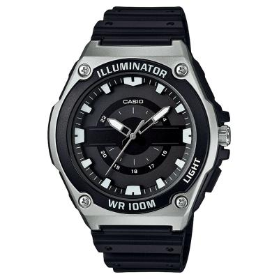 CASIO Collection Black Rubber Strap MWC-100H-1AVEF