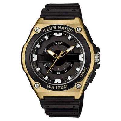 CASIO Collection Black Rubber Strap MWC-100H-9AVEF