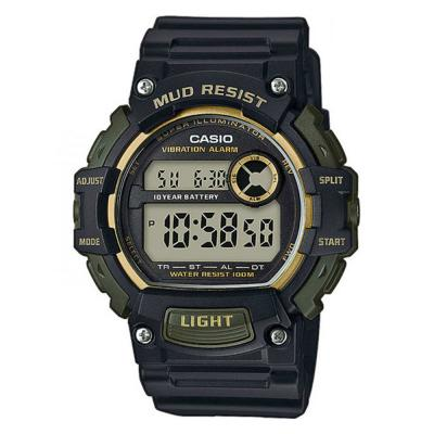 CASIO Collection Black Rubber Strap TRT-110H-1A2VEF
