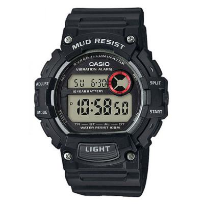 CASIO Collection Black Rubber Strap TRT-110H-1AVEF