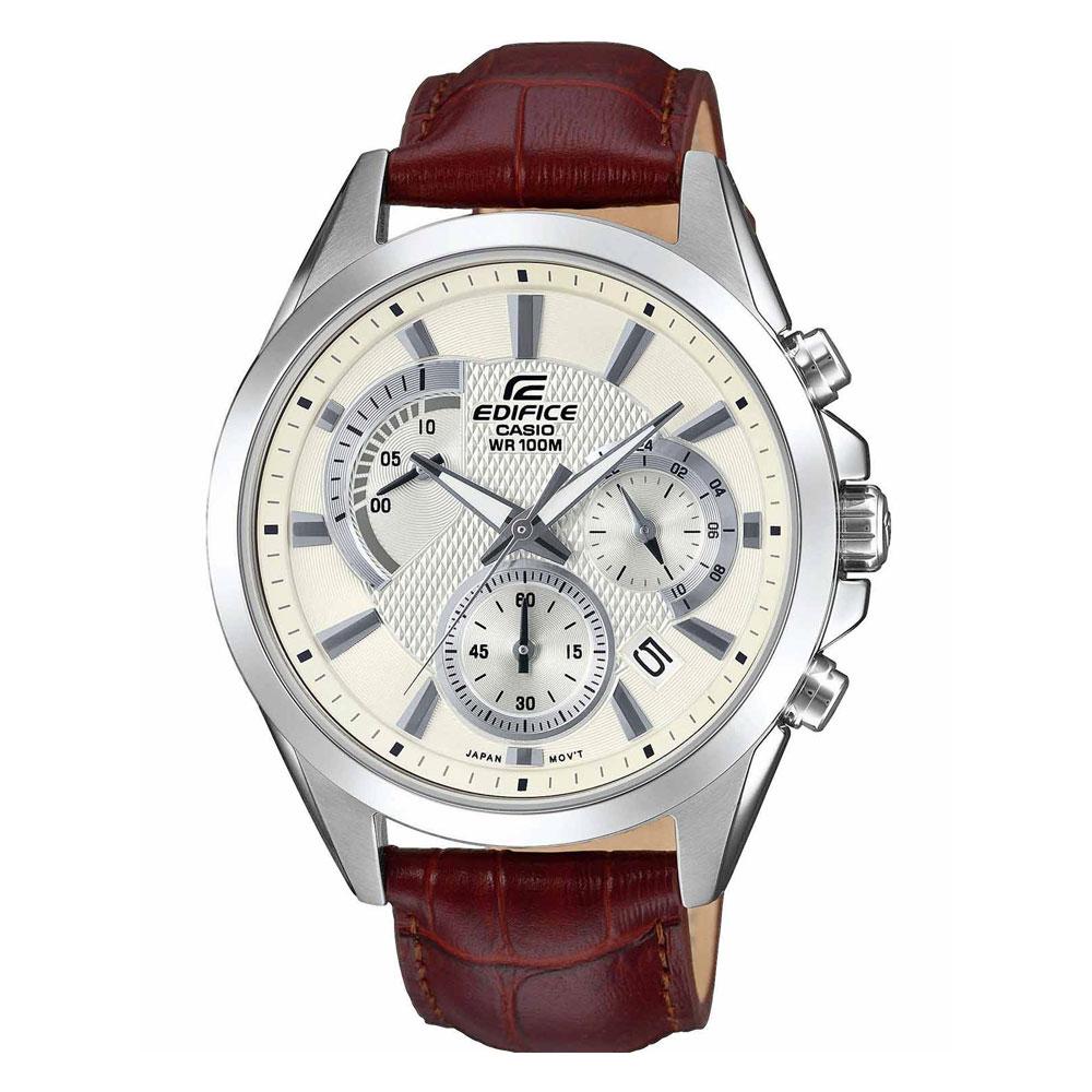 CASIO Edifice Brown Leather Chronograph EFV-580L-7AVUEF