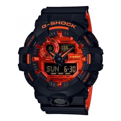 CASIO G-Shock Black Rubber Strap GA-700BR-1AER