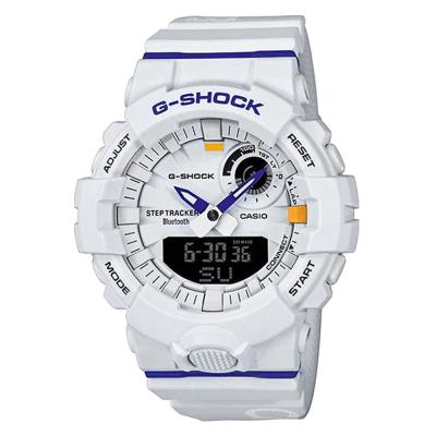 CASIO G-SHOCK Bluetooth Blue Rubber Strap GBA-800DG-7AER