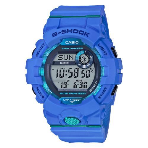 CASIO G-Shock Bluetooth Blue Rubber GBD-800-2ER
