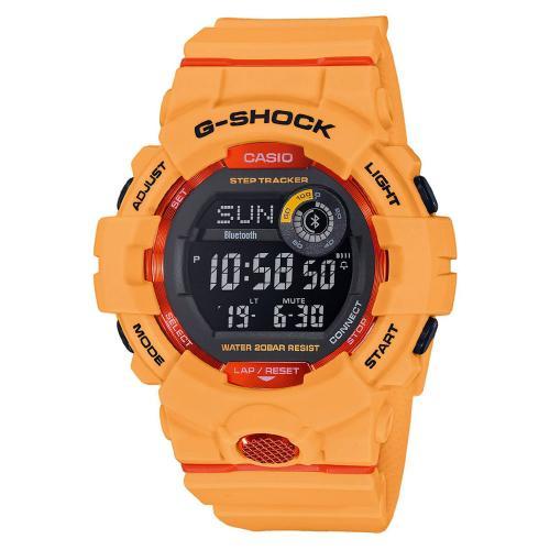 CASIO G-Shock Bluetooth Orange Rubber GBD-800-4ER